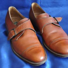 Pantofi barbati Lacoste vintage din piele. SALVATELLI, Made in Italy. Marimea 40, Culoare: Maro