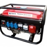 Generator pe benzina Straus Austria 3500W motor 4 timpi - Generator curent