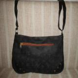 Geanta dama neagra tip postas Louis Vuitton+CADOU