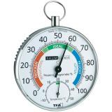 Higrometru si Termometru, fir de par, indicator de confort