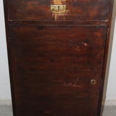 Sifonier - Dulap pentru discuri; Comoda lemn masiv; Scrin; Soldat cu usa si sertar