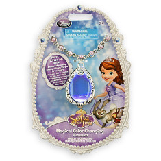 Amuleta Printesei Sofia Intai (cu lumini schimbatoare) Disney