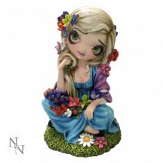 Statuetă zână gotică Flora - Sculptura