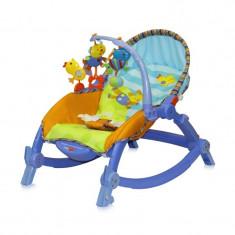 Balansoar bebe LORELLI CLASSIC Chill Out 3 in 1 - Blue - Balansoar interior