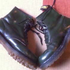 Dr martens nr 39/40 cizme bocanci piele unisex, Culoare: Verde