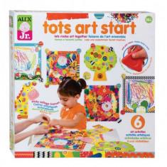 Primul Meu Set De Creatie - Jocuri arta si creatie Alex Toys