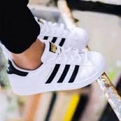 Adidasi Adidas Superstar DAMA alb negru - Adidasi dama, Marime: 36, 37, 38, 39, 40, 41, 42, 43, 44, Culoare: Din imagine