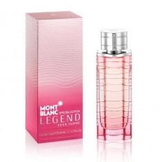 Mont Blanc Legend Special Edition Woman 75 ml - 100 % Original! - Parfum femeie Mont Blanc, Apa de toaleta