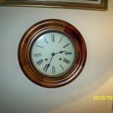 Ceas pendula de perete rotund Germania - Ceas de semineu