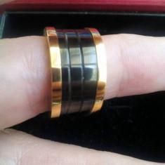 Inel Bvlgari - Inel placate cu aur