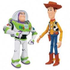 Figurine Robotul Buzz si Woody, Toy Story - Vehicul