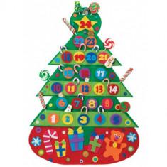 Calendar de Craciun pentru Copii - Jocuri Logica si inteligenta Alex Toys
