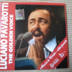 LUCIANO PAVAROTTI GOLDEN VOICE cd disc Muzica Opera nova music colectie jurnalul national
