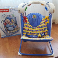 Leagan Fisher Price - Stare impecabila - Balansoar interior