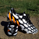 Ghete de fotbal adidas predator - Ghete fotbal Adidas, Marime: 41 1/3, Culoare: Multicolor