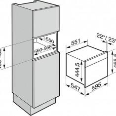 Cuptor Combi Miele ( aburi, microunde ) DGM 6401EDST, Electric, 40 l, Clasa A, Inox - Cuptor incorporabil