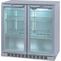 Vitrina Frigorifica Gastro-Cool GCUC200, 208 l, Clasa A, H 90 cm, Alb