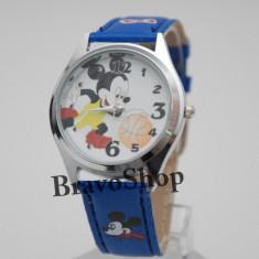 Ceas cu Mickey Mouse pentru copii + Cutie Cadou - Ceas copii