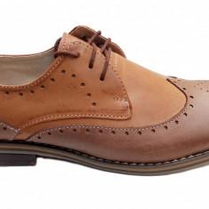 Pantofi barbati casual - eleganti din piele naturala - Oxford 5, Marime: 39, 40, 41, 42, 43, 44