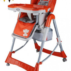 BabyGo – Scaun de masa Tower Maxi Orange - Balansoar interior