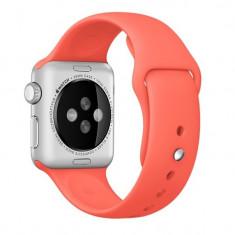 Curea pentru Apple Watch 38 mm Silicon iUni Red - Smartwatch