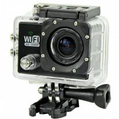 Camera Video Sport iUni Dare 65i Wi-Fi, Full HD, LCD 2 inch, Sport Kit, Negru - Camera Video Actiune