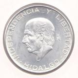 Moneda Mexic 5 Pesos 1955 - KM#469 UNC (argint - 18 grame), America de Nord