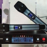 Set 2 microfoane wireles WVNGR WG-2009 - Microfon
