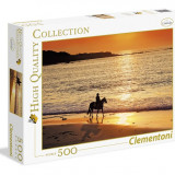 Puzzle 500 piese - Walk at Sunset - Clementoni 30475