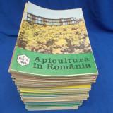 LOT 110 REVISTE APICULTURA - ANII 1978/1990