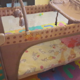Patut bebe - Patut pliant bebelusi Primii Pasi, 120x60cm