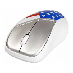 Mouse Tracer Amerikana Wireless White
