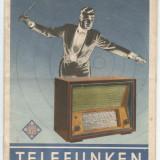 @pliante-TELEFUNKEN - APARATE DE RADIO CU LAMPI DIN ANUL -1942-1943