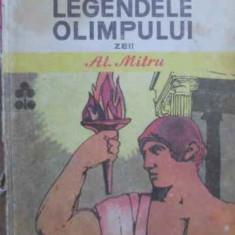 Legendele Olimpului Vol.1 Zeii (cotor Uzat) - Al. Mitru, 159815 - Carte de povesti