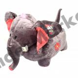 Elefant fotoliu din plus copii