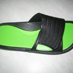 Papuci-slapi barbati WINK;cod ST5152-1(lime);-2(negru);-3(albastru);marime:40-45, Marime: 41, 42, 43, 44, Culoare: Verde