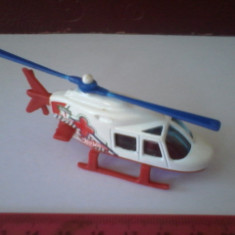 Bnk jc Hot Wheels - Elicopter - 1989 - Macheta Aeromodel