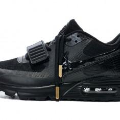 Nike Air Max Full Black Strap - Adidasi barbati Nike, Marime: 38, 39, 40, 41, 42, 43, 44, 45, Culoare: Negru