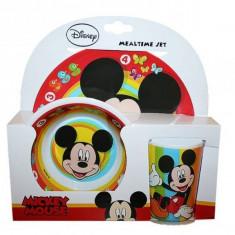 Set Cadou Melamina Mickey Mouse