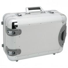 Geanta pentru scule din metal cu rotile 480 x 340 x 200 mm - GBZ-10753 - Detector metale