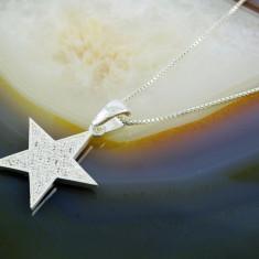 Lant de Argint 925, cu pandantiv Stea, cod 379 - Lantisor argint