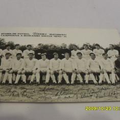 Foto cu autografe Dinamo 1970-1971