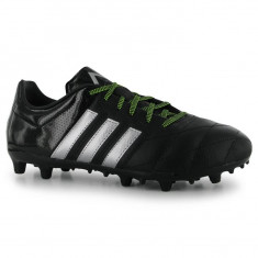 Ghete de fotbal adidas Ace 15.3 FG Piele ORIGINALI masura 39 - Ghete fotbal Adidas, Marime: 39 1/3, Culoare: Negru, Barbati, Teren sintetic: 1, Iarba: 1