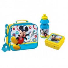 Gentuta Gradinita Mickey Mouse Bbs Cu Sticluta Apa Si Caserola Inclusa - Set rechizite