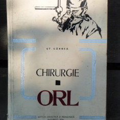 CHIRURGIE ORL - ST. GARBEA - Carte ORL