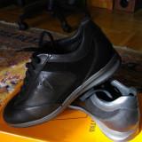 Pantofi Valleverde - Pantofi barbati, Marime: 39, Culoare: Negru