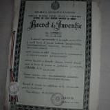 BREVET DE INVENTIE, 1986 //ELECTROMAGNETICA