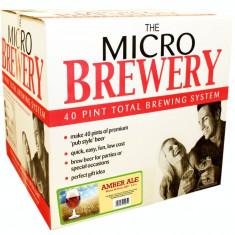 Young's Micro Brewery Amber Ale CompleteSystem - set complet pentru bere de casa, Bruna