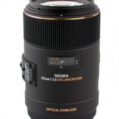 Obiectiv DSLR - Pachet Sigma 105mm F2.8 EX DG OS HSM Macro, obiectiv foto Canon + Kata DR-465 rucsac foto
