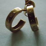 Cercei aur 9k